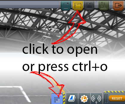 Cm how to open