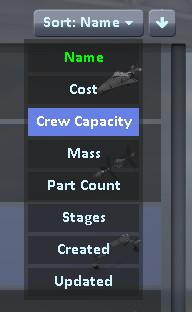 Cm sort menu
