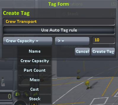 Cm tag create