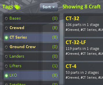 Cm tags select